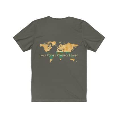 18062 4 416x416 - Love Coffee. Connect People. Unisex Dark Short Sleeve Tee - The Funky Brewster Coffee Catering