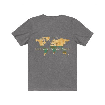 18158 11 416x416 - Love Coffee. Connect People. Unisex Dark Short Sleeve Tee - The Funky Brewster Coffee Catering