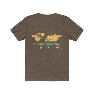 18203 324x324 - Love Coffee. Connect People. Unisex Dark Short Sleeve Tee - The Funky Brewster Coffee Catering