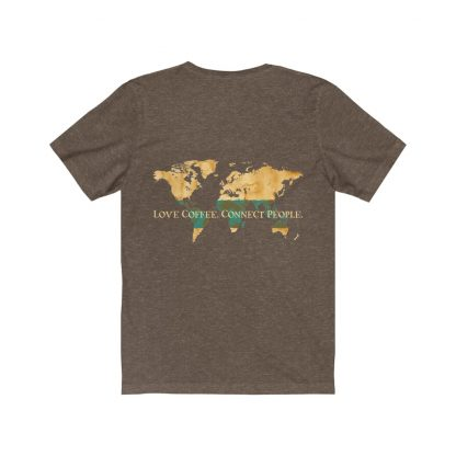 18206 13 416x416 - Love Coffee. Connect People. Unisex Dark Short Sleeve Tee - The Funky Brewster Coffee Catering
