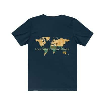 18398 3 416x416 - Love Coffee. Connect People. Unisex Dark Short Sleeve Tee - The Funky Brewster Coffee Catering