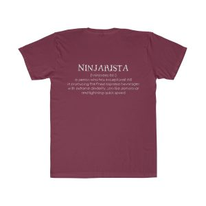 22336 1 300x300 - Ninjarista Unisex Fitted Tee - The Funky Brewster Coffee Catering