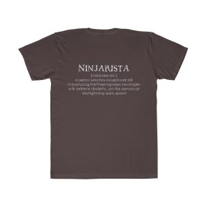 22385 1 300x300 - Ninjarista Unisex Fitted Tee - The Funky Brewster Coffee Catering