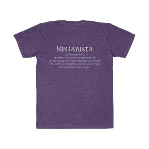 22483 1 300x300 - Ninjarista Unisex Fitted Tee - The Funky Brewster Coffee Catering
