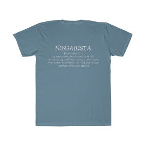 22532 1 300x300 - Ninjarista Unisex Fitted Tee - The Funky Brewster Coffee Catering