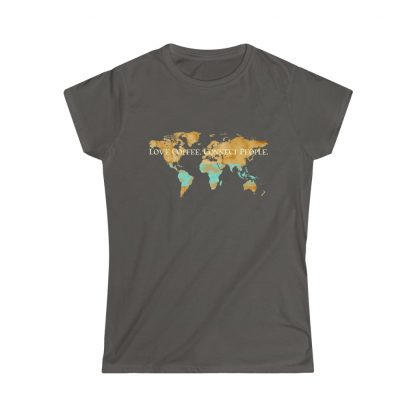 33857 4 416x416 - Women's Love Coffee. Connect People. Softstyle Tee - The Funky Brewster Coffee Catering