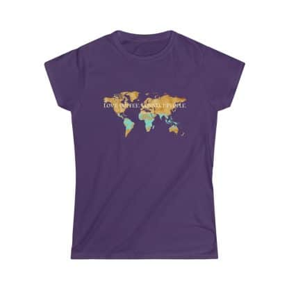 33863 4 416x416 - Women's Love Coffee. Connect People. Softstyle Tee - The Funky Brewster Coffee Catering