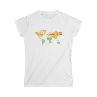 33867 4 416x416 - Women's Love Coffee. Connect People. Softstyle Tee - The Funky Brewster Coffee Catering