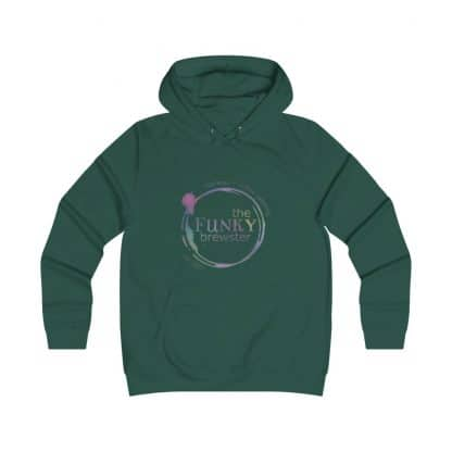 36699 416x416 - Rainbow Logo Girlie College Hoodie - The Funky Brewster Coffee Catering