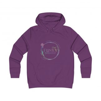 36713 324x324 - Rainbow Logo Girlie College Hoodie - The Funky Brewster Coffee Catering