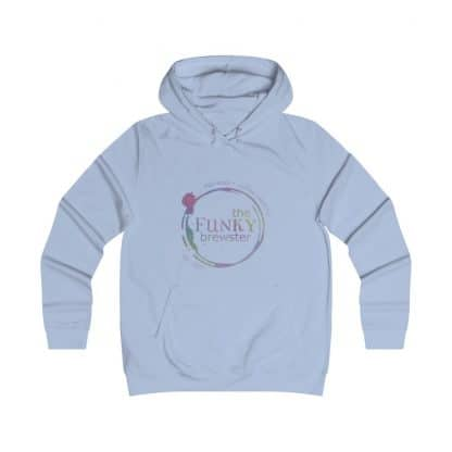 36718 416x416 - Rainbow Logo Girlie College Hoodie - The Funky Brewster Coffee Catering