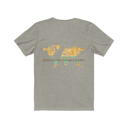 38851 416x416 - Love Coffee. Connect People Unisex Jersey Short Sleeve Tee - The Funky Brewster Coffee Catering