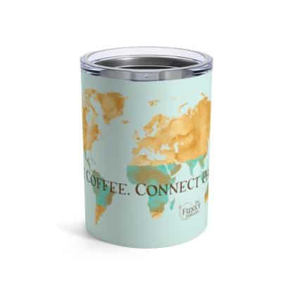 44447 42 416x416 - Love Coffee. Connect People. Tumbler 10oz - Seafoam - The Funky Brewster Coffee Catering