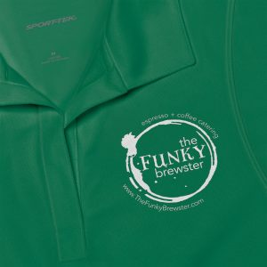 45326 2 300x300 - Women's Polo Shirt - The Funky Brewster Coffee Catering