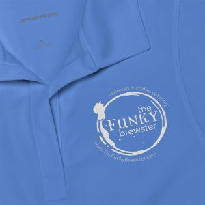 45340 2 300x300 - Women's Polo Shirt - The Funky Brewster Coffee Catering