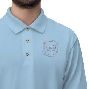 45413 4 300x300 - Men's Jersey Polo Shirt - The Funky Brewster Coffee Catering