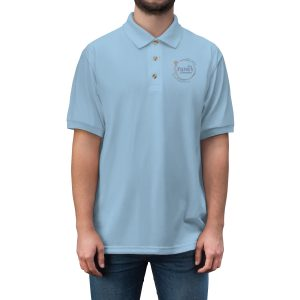45413 5 300x300 - Men's Jersey Polo Shirt - The Funky Brewster Coffee Catering