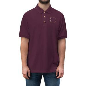 45414 5 300x300 - Men's Jersey Polo Shirt - The Funky Brewster Coffee Catering