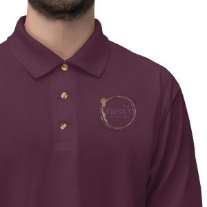 45414 7 300x300 - TFB Logo Men's Jersey Polo Shirt - The Funky Brewster Coffee Catering