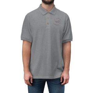 45418 8 300x300 - TFB Logo Men's Jersey Polo Shirt - The Funky Brewster Coffee Catering