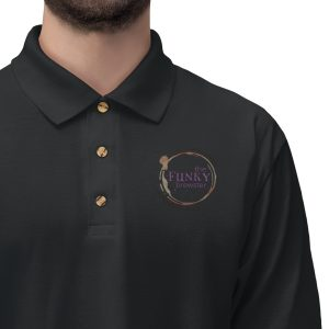 45420 7 300x300 - TFB Logo Men's Jersey Polo Shirt - The Funky Brewster Coffee Catering