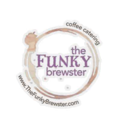45749 1 416x416 - The Funky Brewster Logo Sticker - The Funky Brewster Coffee Catering