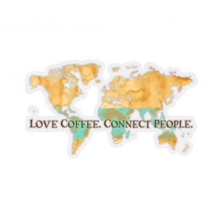 45749 8 324x324 - Love Coffee. Connect People Kiss-Cut Stickers - The Funky Brewster Coffee Catering