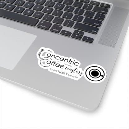 45752 7 416x416 - Concentric Coffee Roasters Kiss-Cut Stickers - The Funky Brewster Coffee Catering