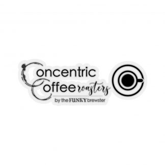 45753 6 324x324 - Concentric Coffee Roasters Kiss-Cut Stickers - The Funky Brewster Coffee Catering