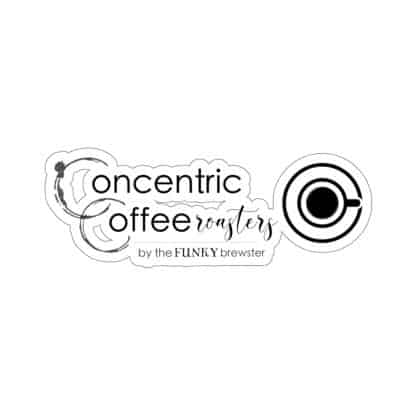 45754 6 416x416 - Concentric Coffee Roasters Kiss-Cut Stickers - The Funky Brewster Coffee Catering