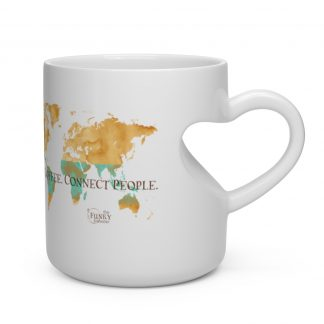 61535 3 324x324 - Love Coffee. Connect People Heart Shaped Mug - The Funky Brewster Coffee Catering
