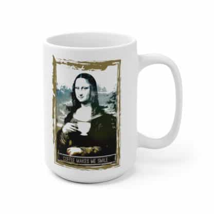 62328 1 416x416 - Coffee Makes Me Smile Ceramic Mug - The Funky Brewster Coffee Catering