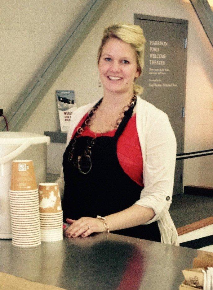 amy harper denver barista closeup - amy-harper-denver-barista-closeup - The Funky Brewster Coffee Catering