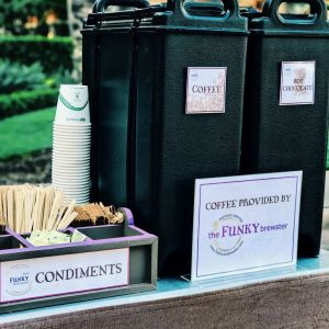 coffee on the go 300x300 - Photo Gallery - The Funky Brewster Coffee Catering