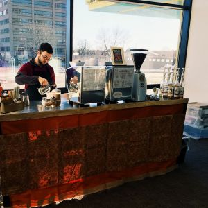 double cart with a view 300x300 - Photo Gallery - The Funky Brewster Coffee Catering