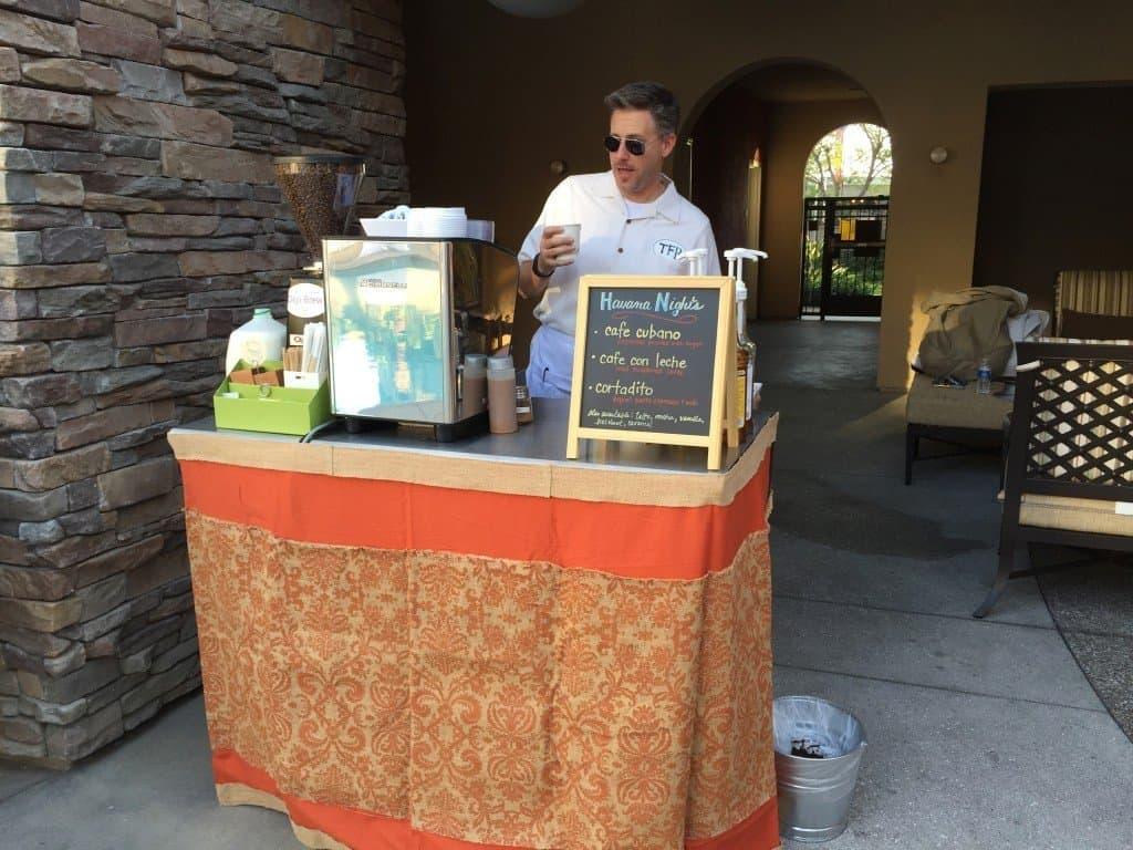 kent mcdonald orange county barista outdoor coffee cart - kent-mcdonald-orange-county-barista-outdoor-coffee-cart - The Funky Brewster Coffee Catering