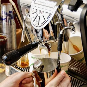 tfb espresso machine 300x300 - General Event Photos - The Funky Brewster Coffee Catering